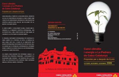 Jornades 'Energia i canvi climàtic. Propostes per a després de Kyoto'