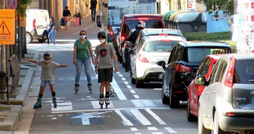 Movilidad activa en Sant Cugat (Ayuntamiento de Sant Cugat)